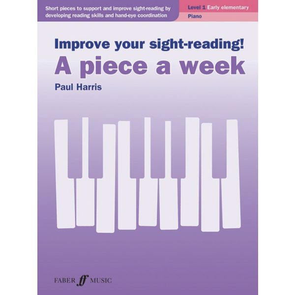Alfred Music Improve Your Sight-Reading! A Piece a Week: Piano, Level 1