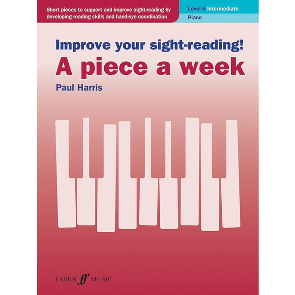 Alfred Music Improve Your Sight-Reading! A Piece a Week: Piano, Level 5