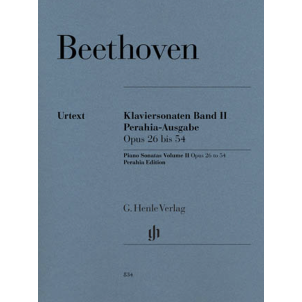 Hal Leonard Piano Sonatas Volume 2 Op. 26 bis 54 Perahia Edition