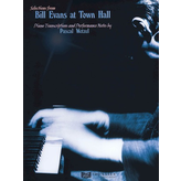 Hal Leonard Bill Evans at Town Hall