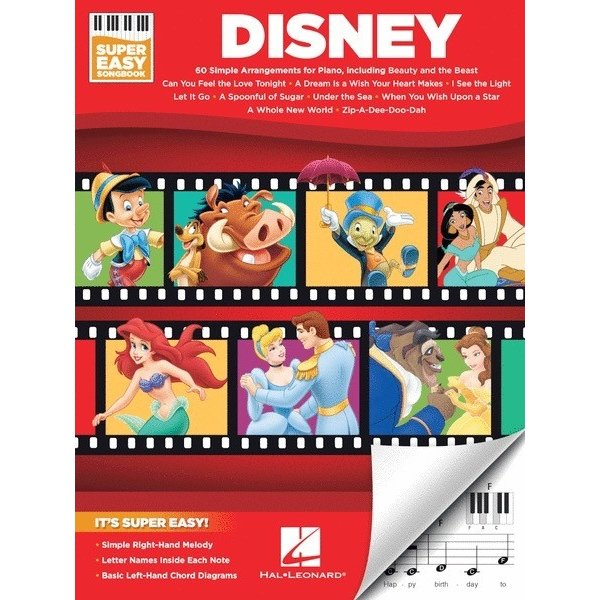 Disney Disney – Super Easy Songbook