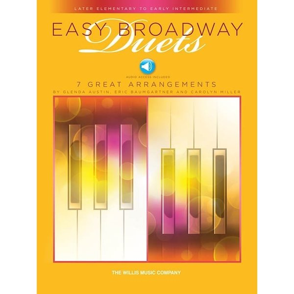 Willis Music Company Easy Broadway Duets