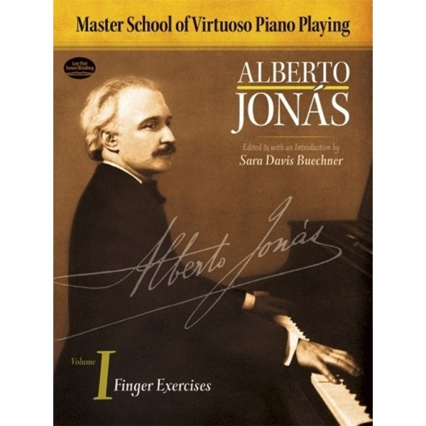 Dover Publications Master School of Virtuoso Piano Playing: Volume I Finger Exercises