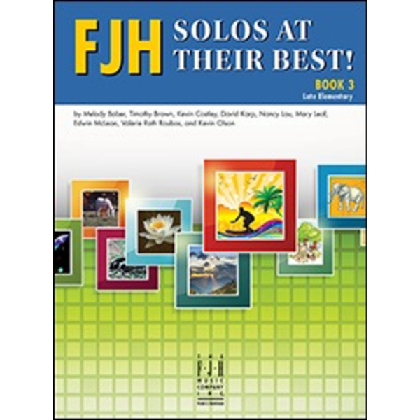 FJH Music Company FJH Solos at Their Best! Book 3