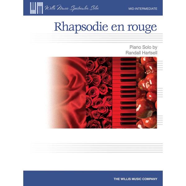 Willis Music Rhapsodie en rouge