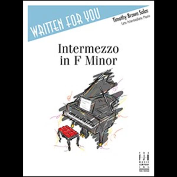 FJH Intermezzo in F Minor
