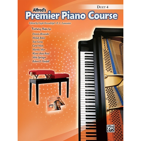 Alfred Music Premier Piano Course Duet 4