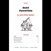 BASTIEN PIANO Duet Favorites, Level 4