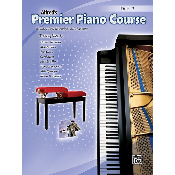 Alfred Music Premier Piano Course, Duet 3