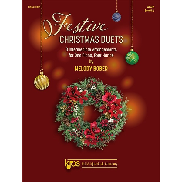 Kjos Festive Christmas Duets, Book One