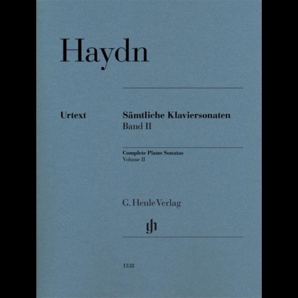 Henle Urtext Editions Haydn - Complete Piano Sonatas – Volume II w/o Fingering