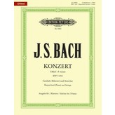 Edition Peters JS Bach - Keyboard Concerto No. 5 in F Minor BWV 1056
