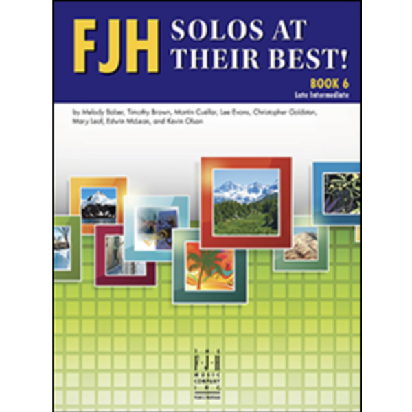 FJH Music Company FJH Solos At Their Best! Book 6