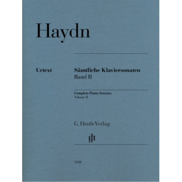 Henle Urtext Editions Haydn - Complete Piano Sonatas, Volume II (Revised)