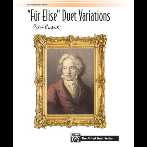 """Alfred Music """"Für Elise"""" Duet Variations"""