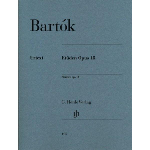 Henle Urtext Editions Bartók - Etudes Op. 18