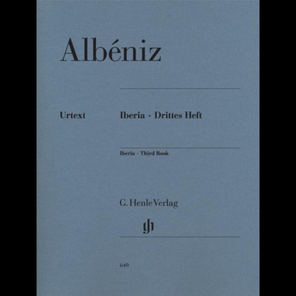 Henle Urtext Editions Albéniz - Iberia · Third Book