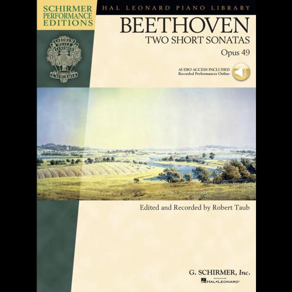 Schirmer Beethoven - Two Short Sonatas, Opus 49