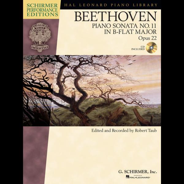 Schirmer Beethoven: Sonata No. 11 in B-flat Major, Opus 22
