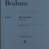 Edition Peters Brahms - Pieces (8) Op.76