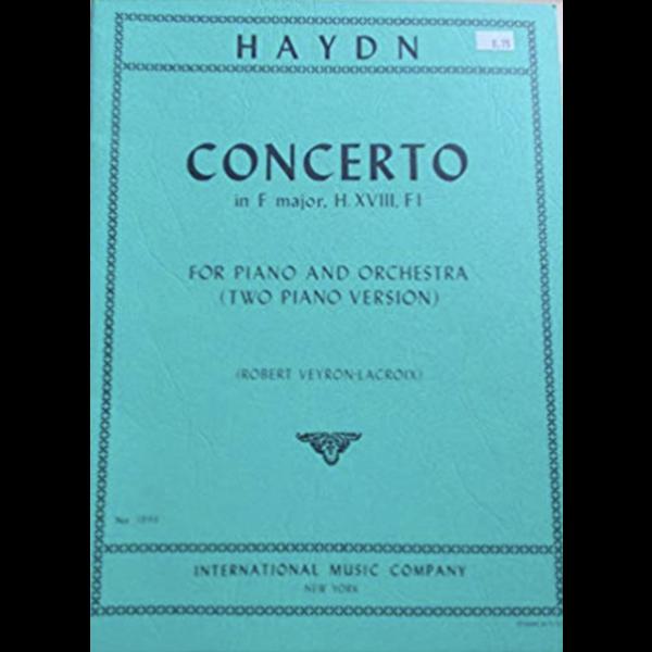 International Music Company (IMC) Haydn - Concerto in F major, Hob. XVIII: F.1 for Piano & Orchestra