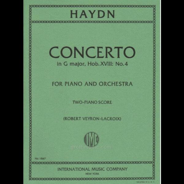 International Music Company (IMC) Haydn - Concerto in G Major, Hob. XVIII: No. 4 for Piano & Orchestra