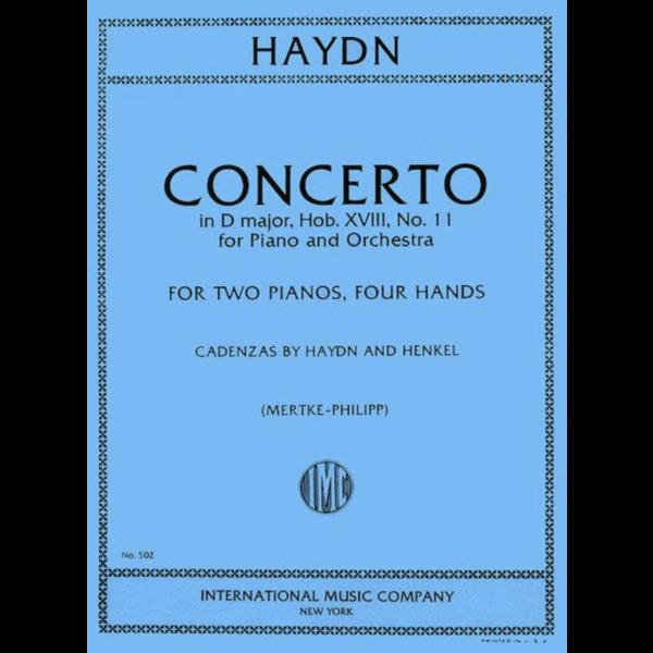 International Music Company (IMC) Haydn - Concerto in D Major, Hob. XVIII: No. 11