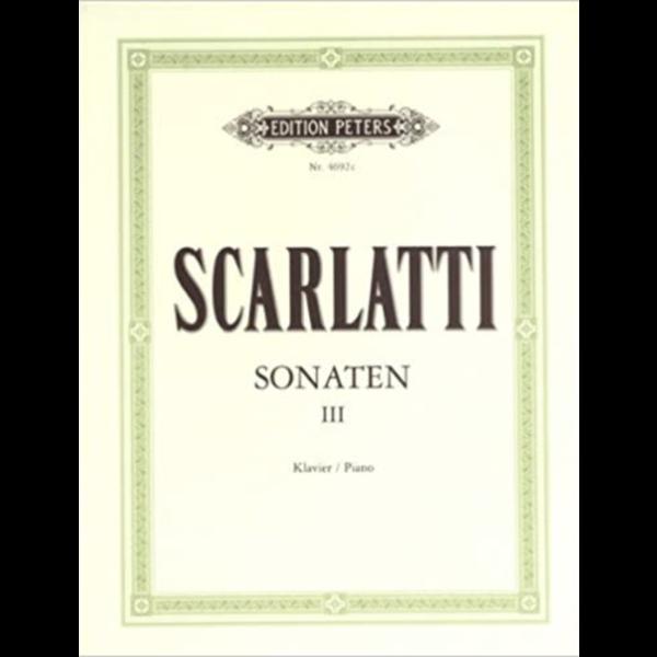 Edition Peters Scarlatti - Sonaten III