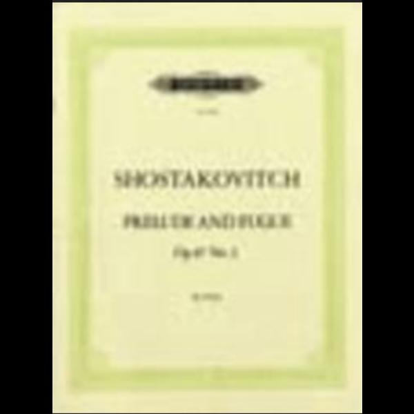 Edition Peters Shostakovich - Prelude & Fugue Op.87 No.2 in A minor