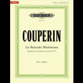 Edition Peters Couperin - Les Baricades Mistérieuses