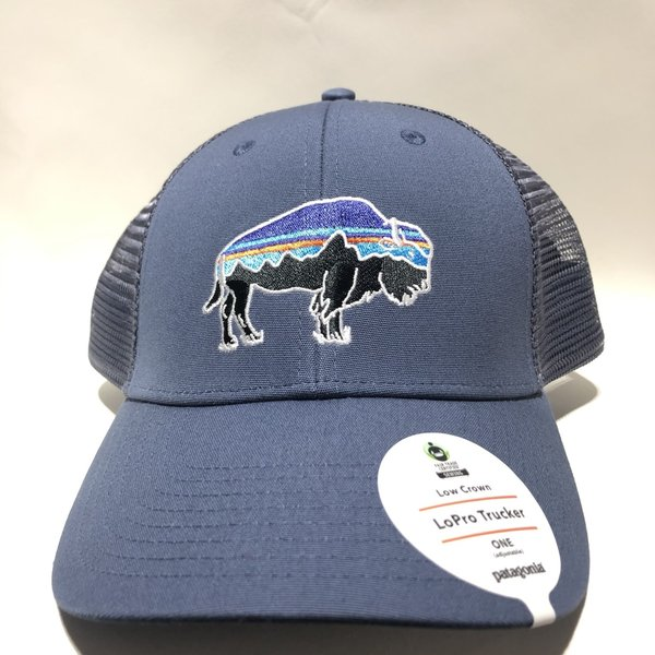 Patagonia Fitz Roy Bison LoPro Trucker Hat DLMB ALL