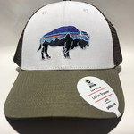 Patagonia Fitz Roy Bison LoPro Trucker Hat WHSK ALL