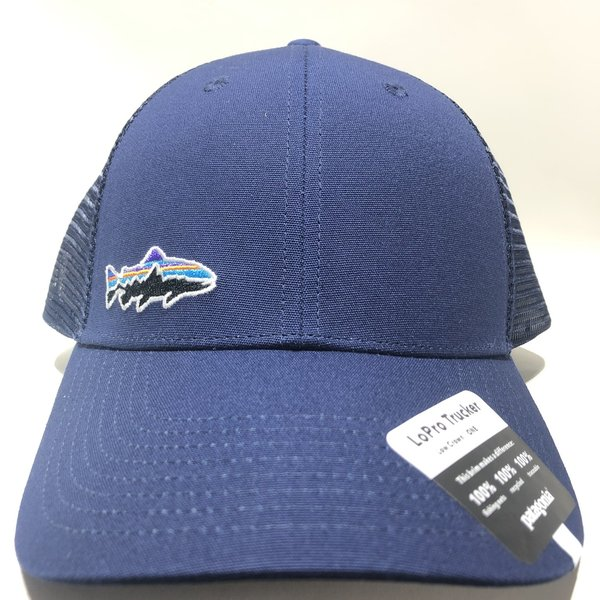 Patagonia Small Fitz Roy Fish LoPro Trucker Hat