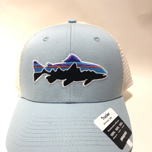 Patagonia Small Fitz Roy Trout Trucker Hat