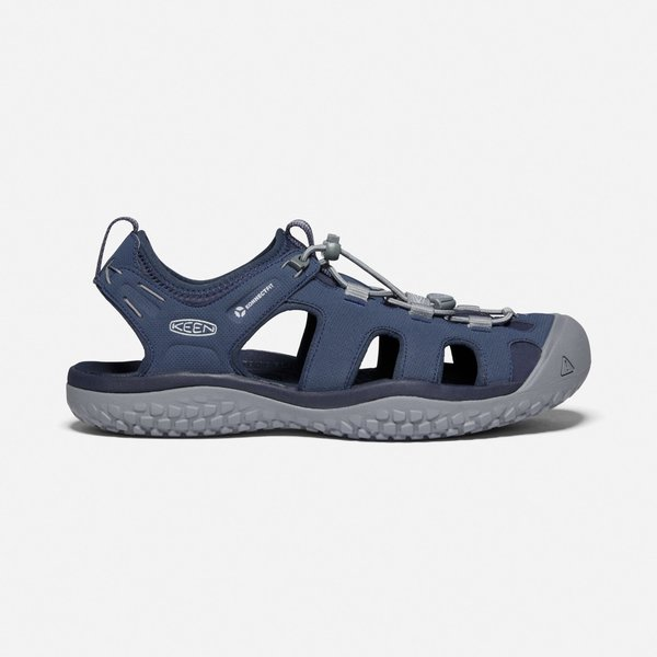 KEEN Solr Sandal M. Navy/Steel Grey 11