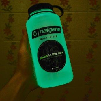 NALGENE Nalgene WM 1 QT  32oz.  Glows Green
