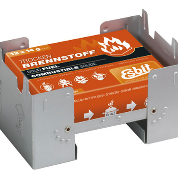 ESBIT ESBIT LARGE POCKET STOVE w/ 12pc