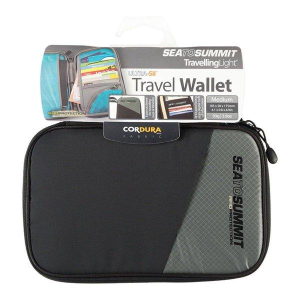 Sea to Summit Travel Wallet RFID - Medium Black/ Grey