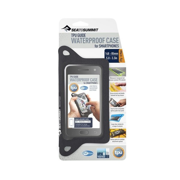 Sea to Summit TPU Guide Waterproof Case for SMARTPHONES (IPX8)