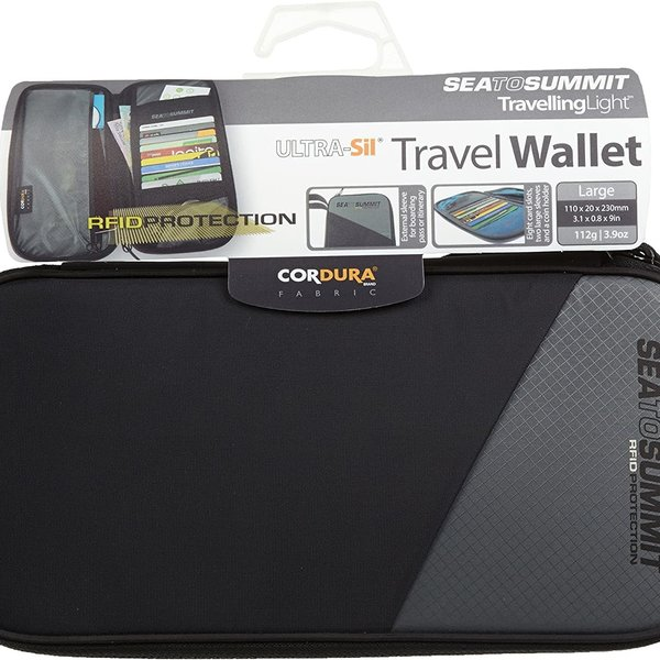 Sea to Summit Travel Wallet RFID - Large  Black