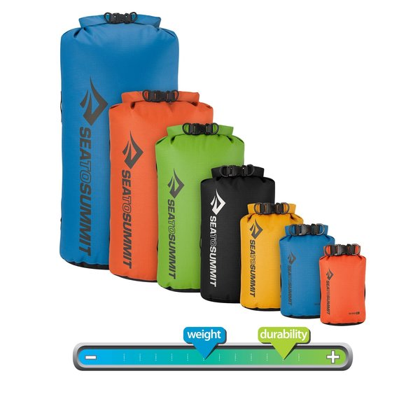 Sea to Summit Big River Dry Bag - 8 Liter (Orange)