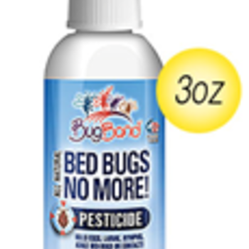 BUG BAND Bugband Bed Bugs No More 3oz