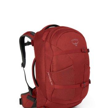 OSPREY Farpoint 40 Jasper Red M/L