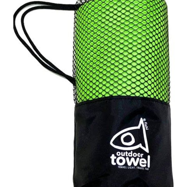 atommyco Fishi Microfiber Towel Lime