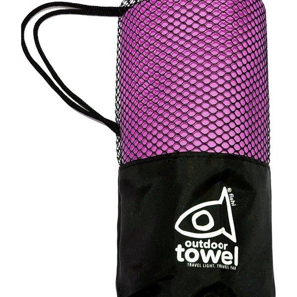 atommyco Fishi Microfiber Towel Fuschia