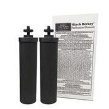 BERKEY PURIFICATION SYSTEMS Black Berkey Elements (2) Replacement