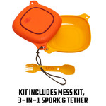 UCO 4 Piece Mess Kit Peggable/Standing Box Sunrise O/S