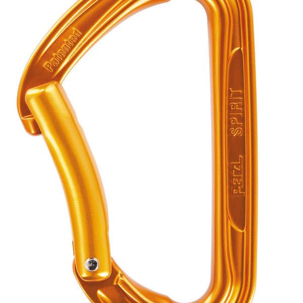 Petzl SPIRIT carabiner Bent gate