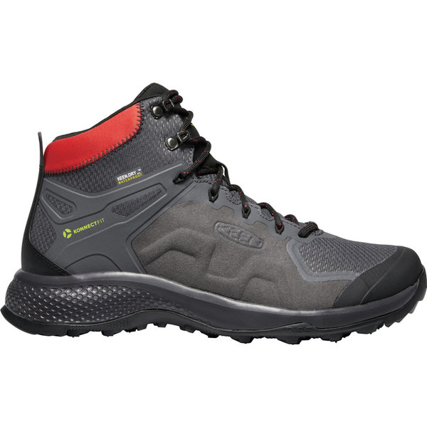 KEEN Explore Mid WP M Magnet / Fiery Red
