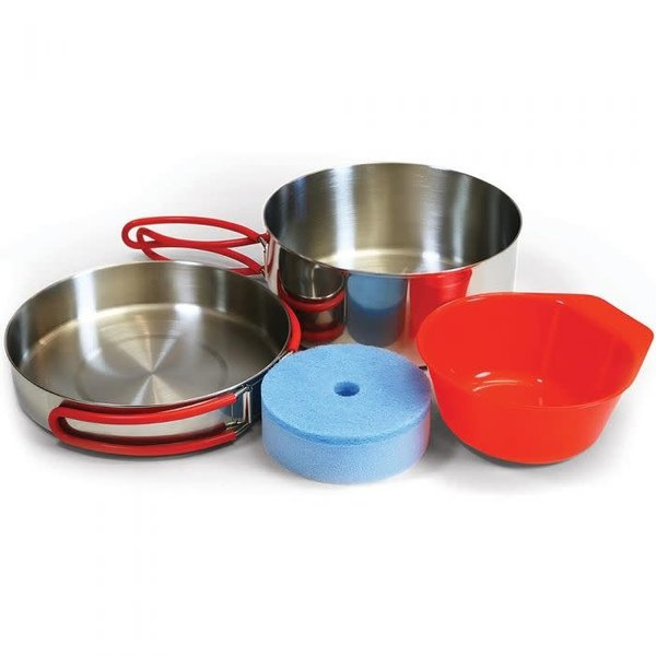 Coghlans Stainless Steel Mess Kit  5 piece set